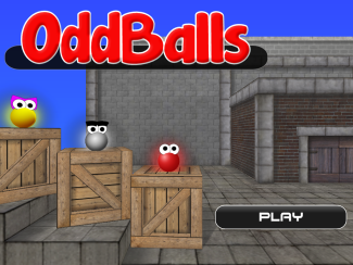 OddBalls game screenshot 1